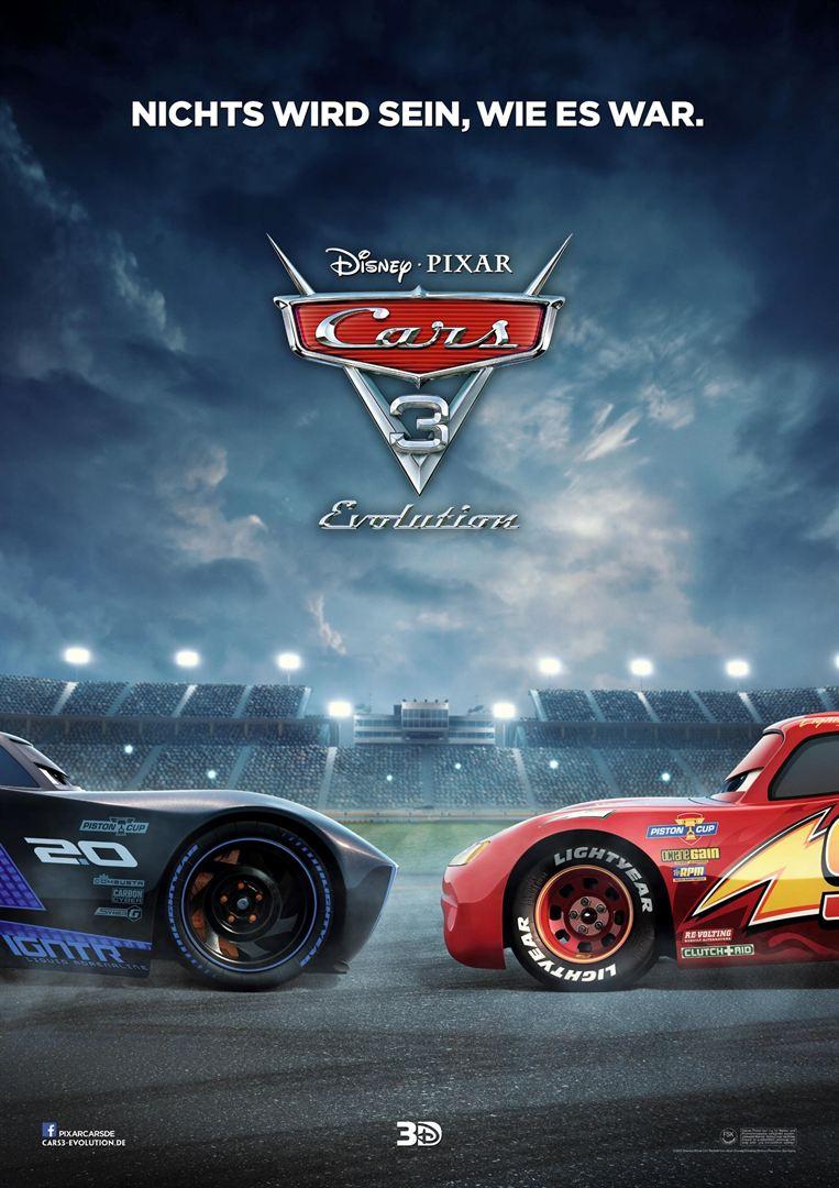 Cars 3 - Evolution 3D
