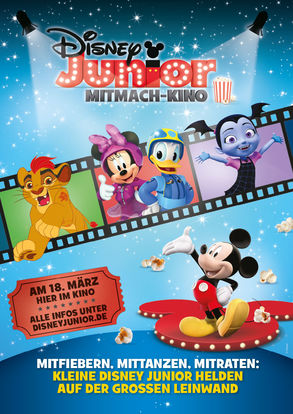Disney Junior Mitmach-Kino 18.03.2018