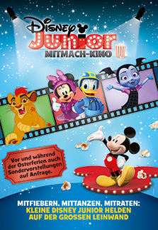 Disney Junior Mitmach-Kino 16.09.2018