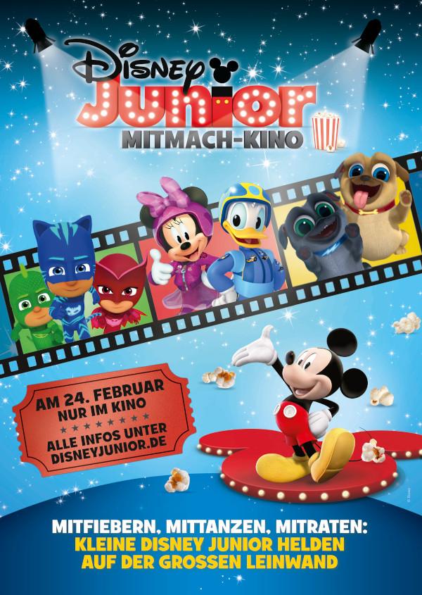 Disney Junior Mitmach-Kino 24.02.2019